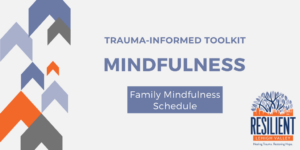 Trauma-Informed Toolkit: Family Mindfulness Schedule