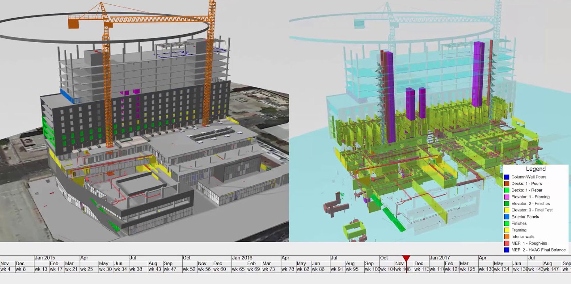 Construcción Virtual BIM Edificación Virtual