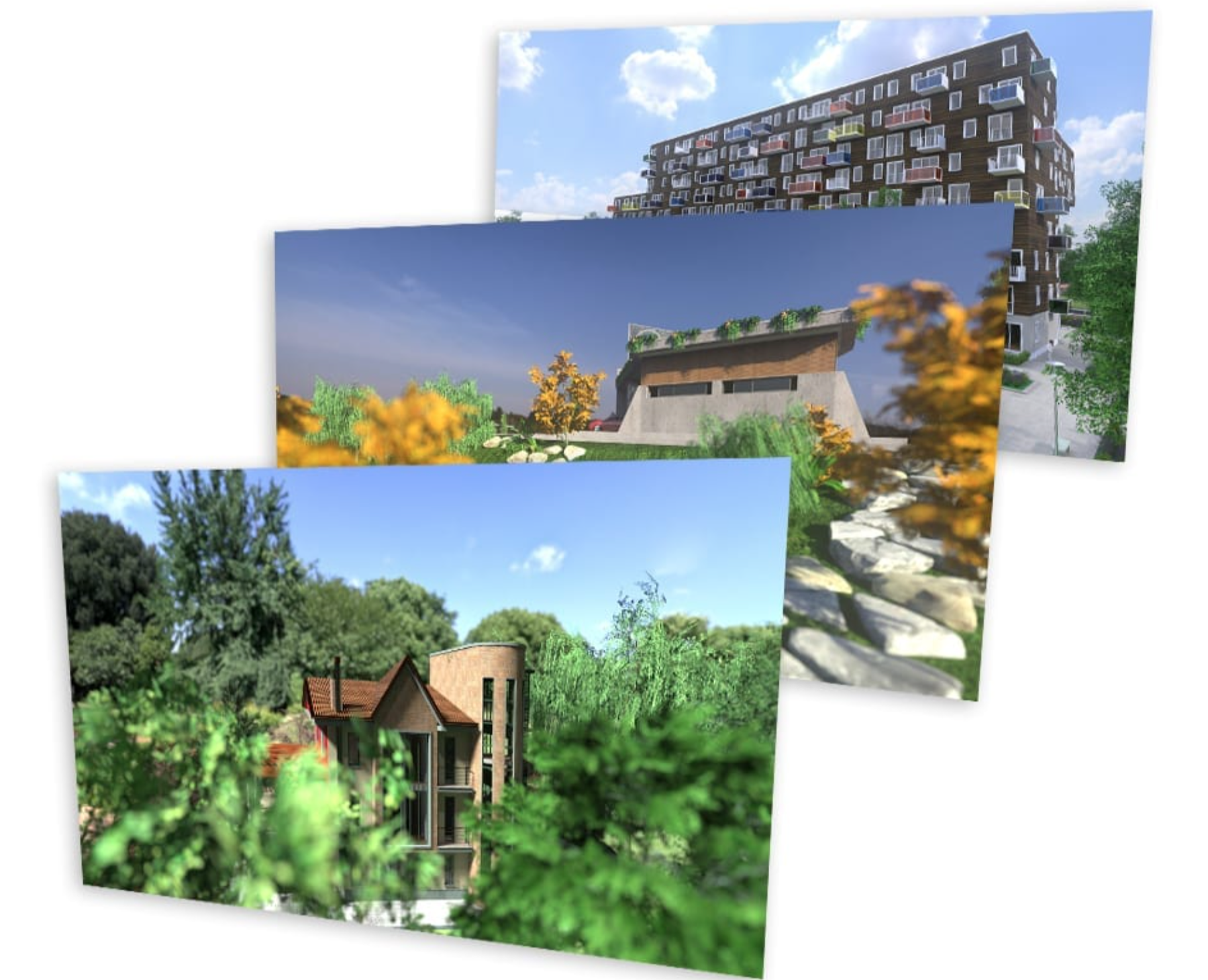 Presentaciones BIM Software para paisajismo