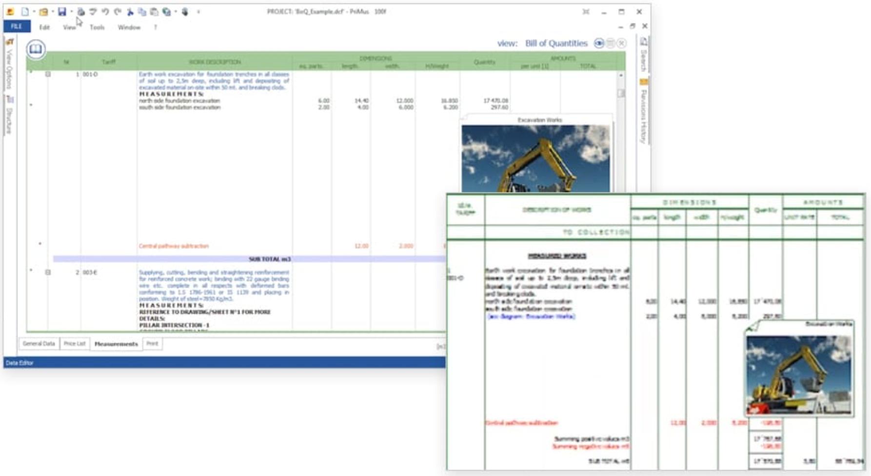 Software de presupuestos de obras