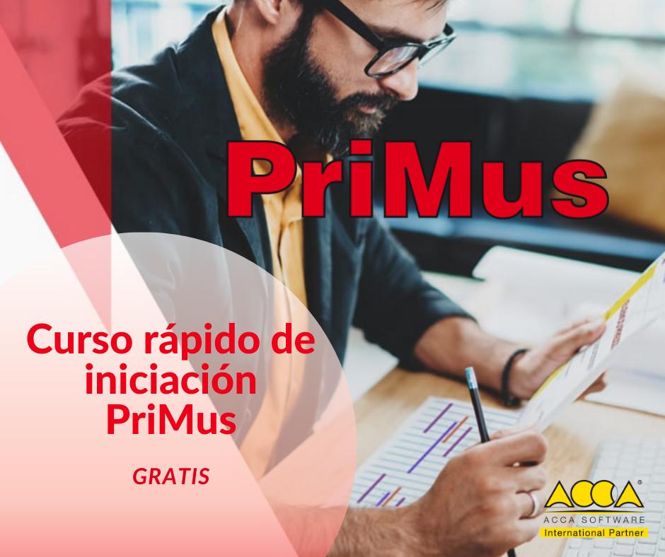 Curso rápido de iniciación PriMus