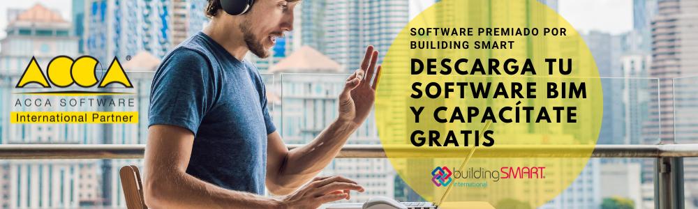 Descarga tu Software BIM y capacítate GRATIS