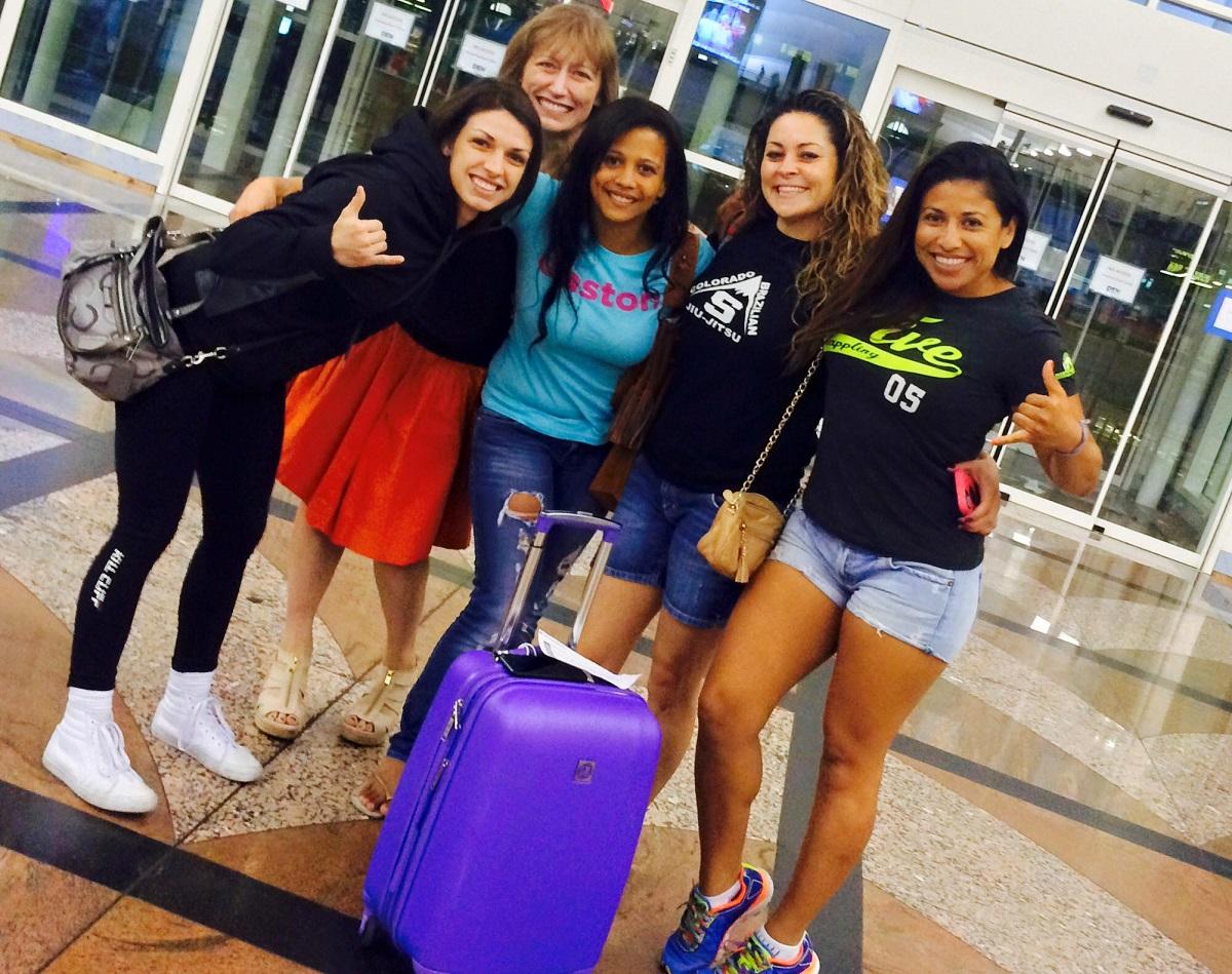 07-25-2015 - Girls in Gis - Denver BJJ Seminars - Makenzie Dern Ladies Seminar at CBJJ Denver HQ - Airport Escort 2