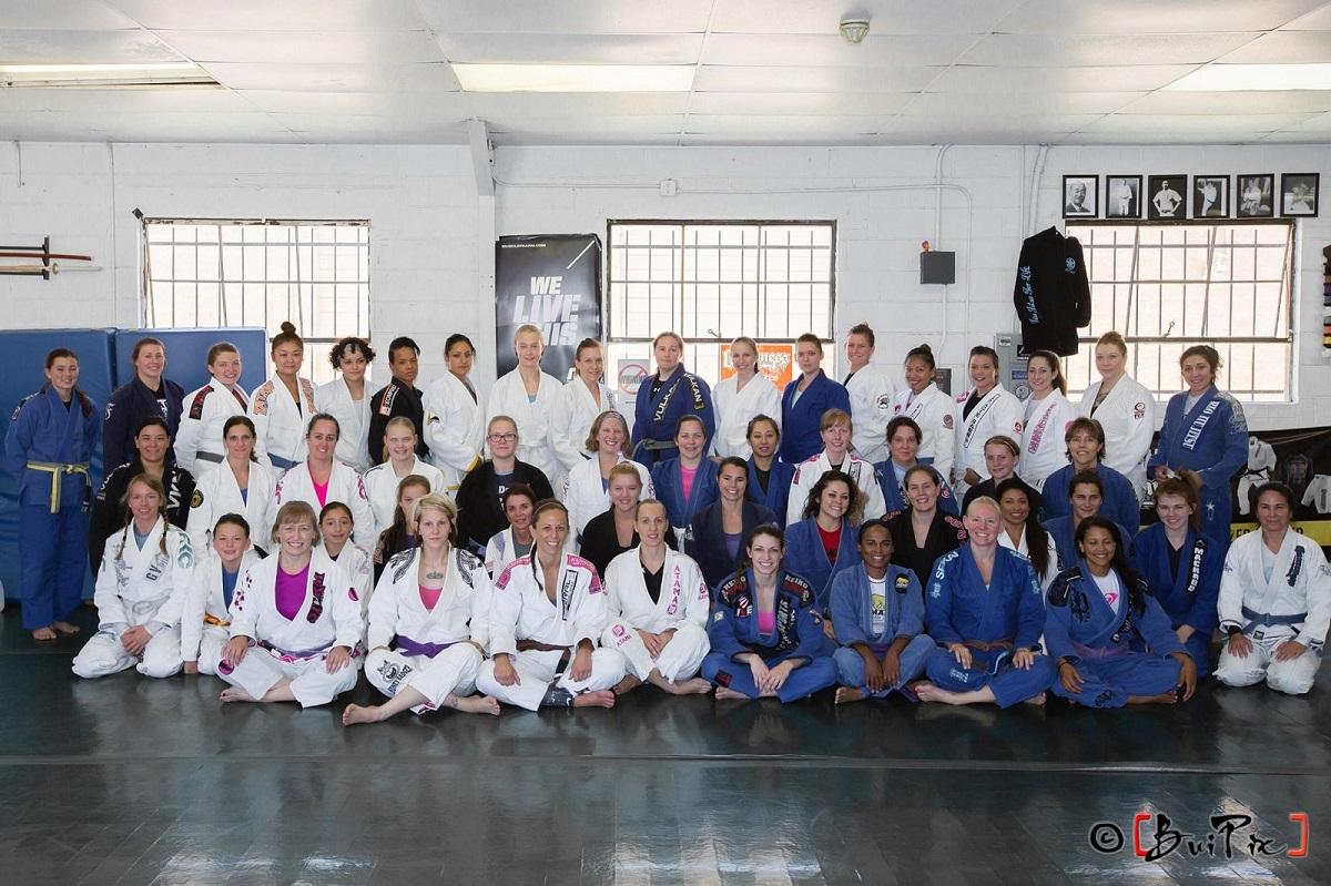 07-25-2015 - Girls in Gis - Denver BJJ Seminars - Makenzie Dern Ladies Seminar at CBJJ Denver HQ - Group Pic