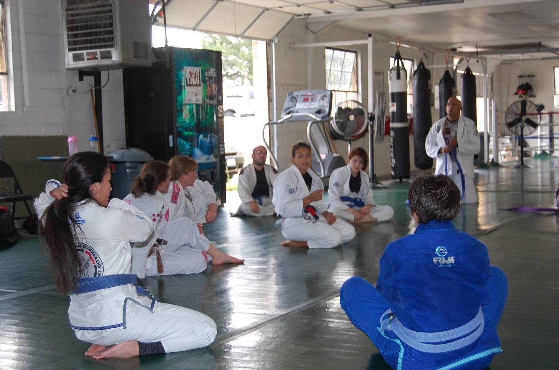 Bia Mesquita Seminar - Instructing - CBJJ Denver HQ - 08-16-2015