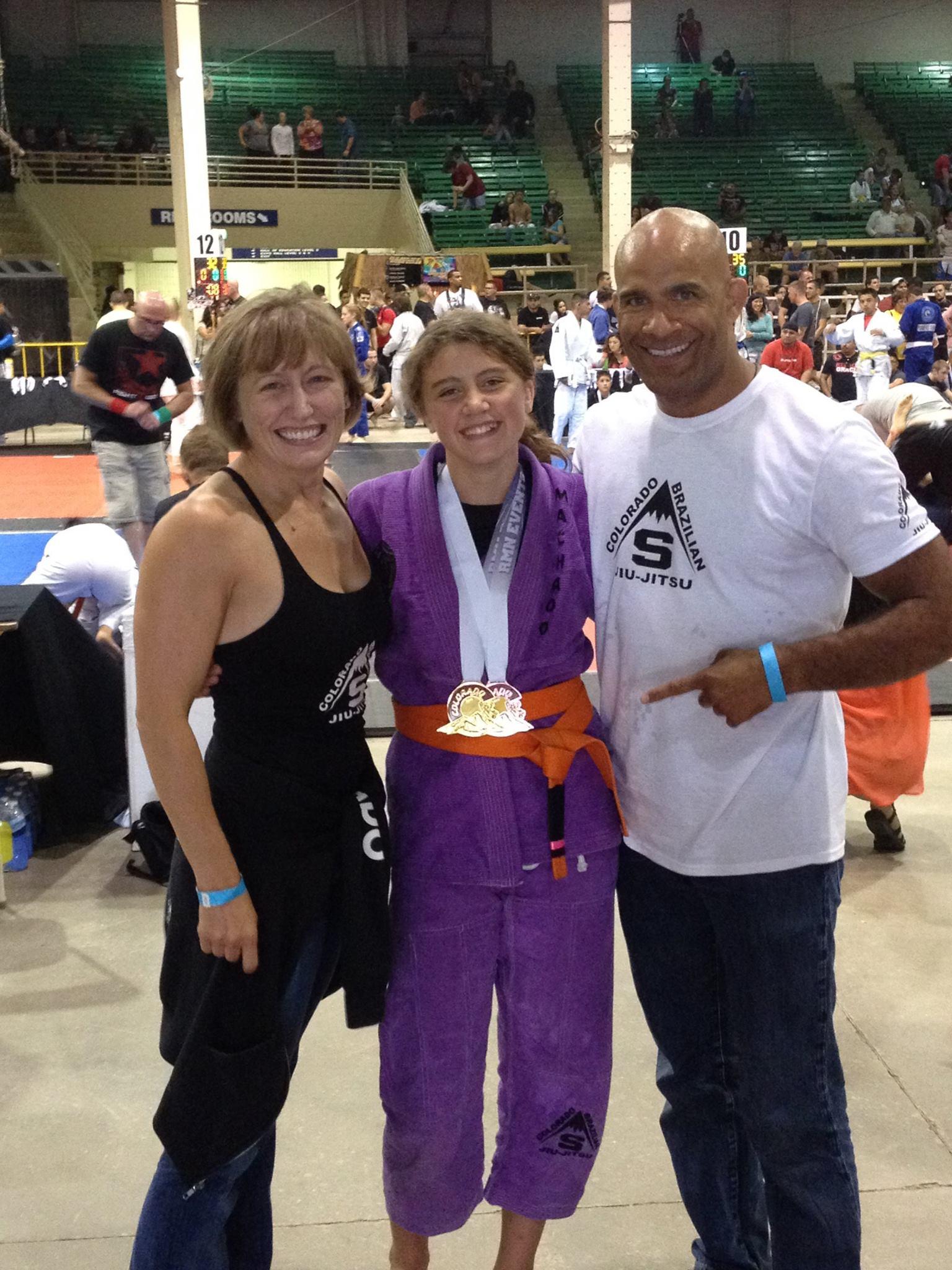 Fight To Win 2014 Colorado Open - Kate Stewart - Gold and Bronze - Teri Stewart - Professor Sean Stewart