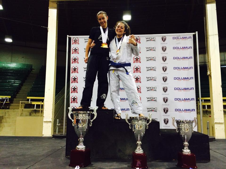 Fight To Win 2014 Colorado Open - Rachel Ballard - Natalie DiNingrat - Gold and Silver Medals - CBJJ Stapleton