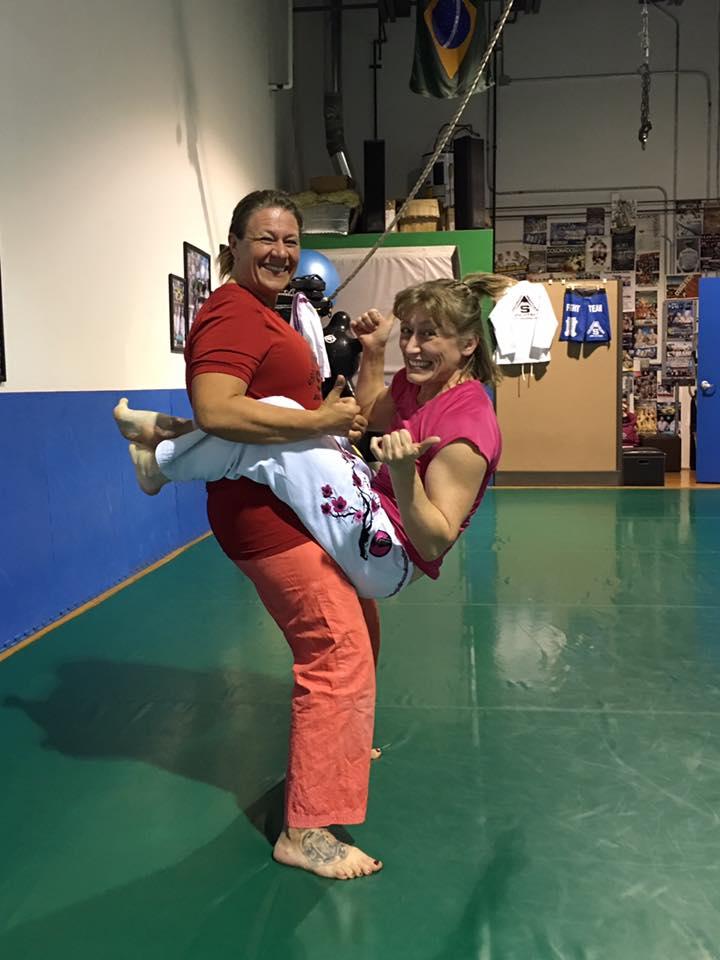 Ladies Only - Guard Sit Ups - Heather & Teri - 04-15-2016