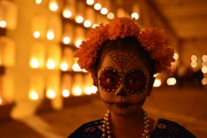 Oaxaca Mexico Day of the Dead girl