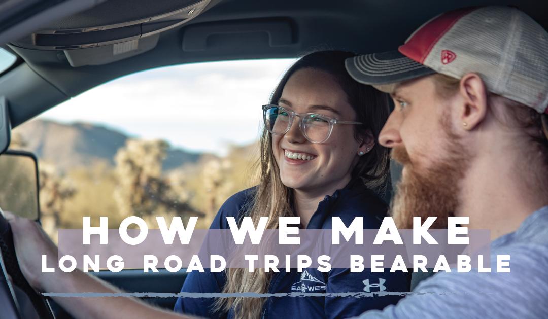 How We Make Long Road Trips Bearable as Full-Time RVers