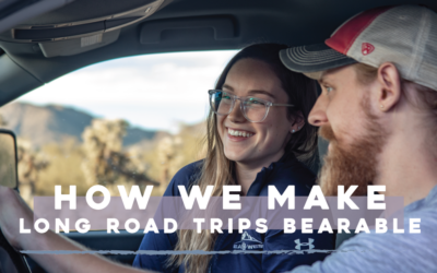 How We Make Long Road Trips Bearable as Full-Time RVers