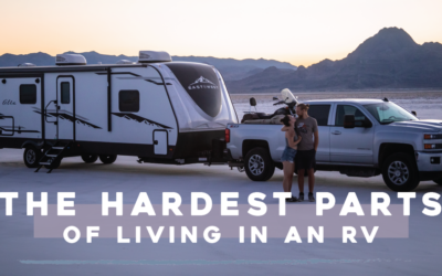 The Hardest Parts of Living in an RV