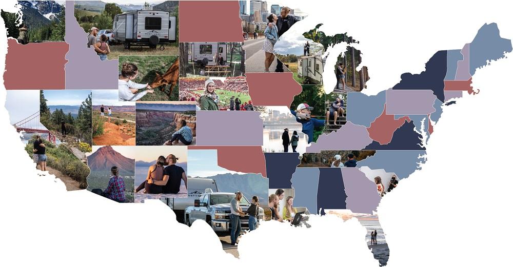 Wild Hixsons State Map 4
