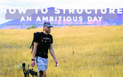 How to Structure an Ambitious Day
