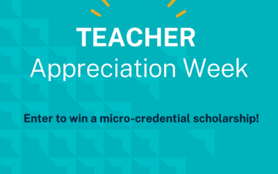 Teachers can enter to win a $2,600 Scholarship!