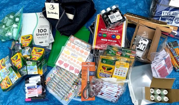 Teachers' Teammates - Typical Supply Order