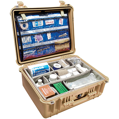 Pelican Protector 1550EMS Hospital First Aid Case