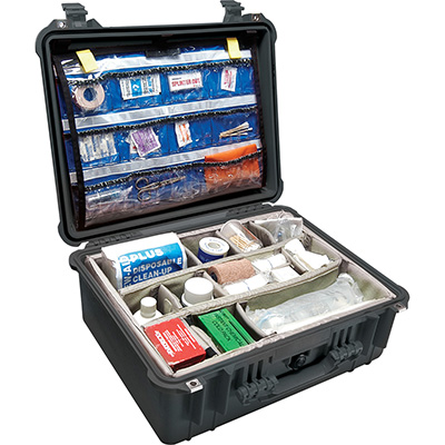 Pelican Protector 1550EMS Hospital Case