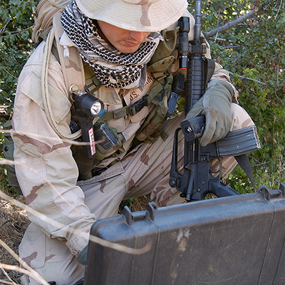 Pelican Protector 1490 Military Laptop Case