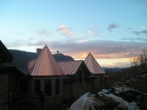copper turret roof 1