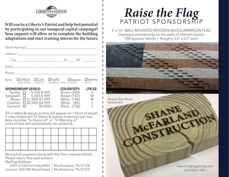 LS Sponsor Flag brochure