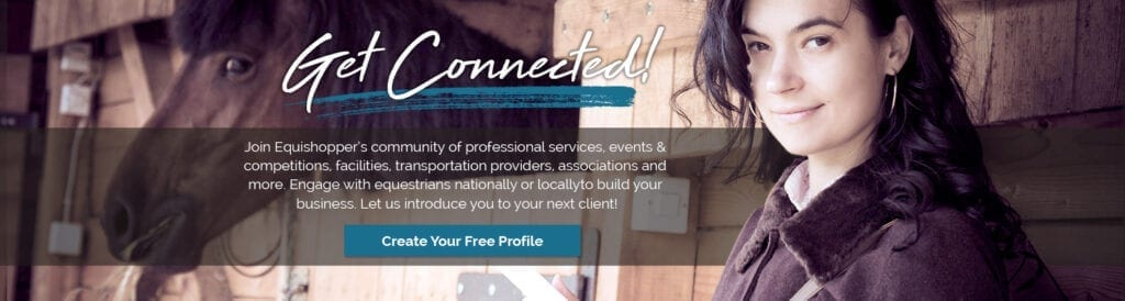 get connected, equestrian professional profiles