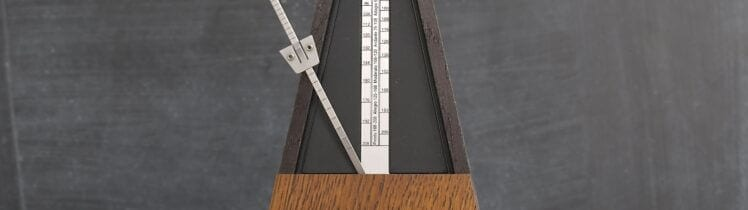 Old Classic Metronome, create a new rhythm