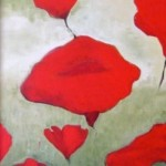 Pint Size Poppies 8x10