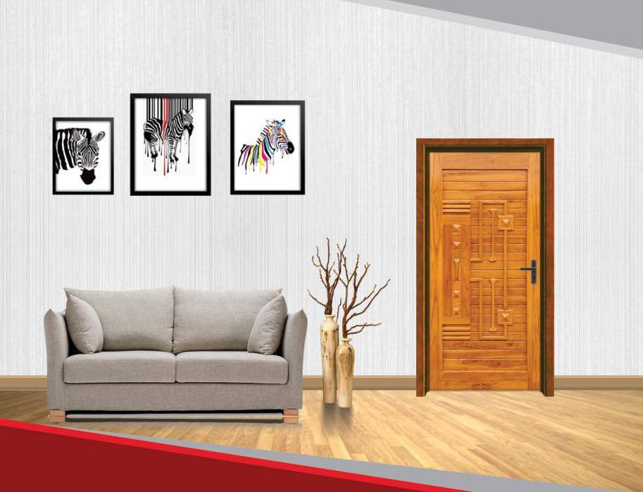 Sapex Doors Solid Premium Quality Teak Wood Doors