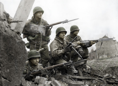 soldiers WWII