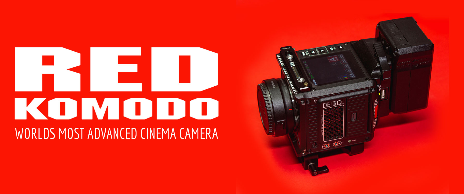 Our Red Komodo Rental Package