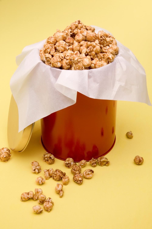 My Family's Favorite Microwave Caramel Corn