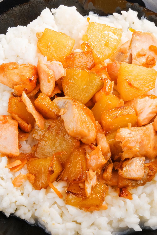 Easy Crockpot Hawaiian Chicken