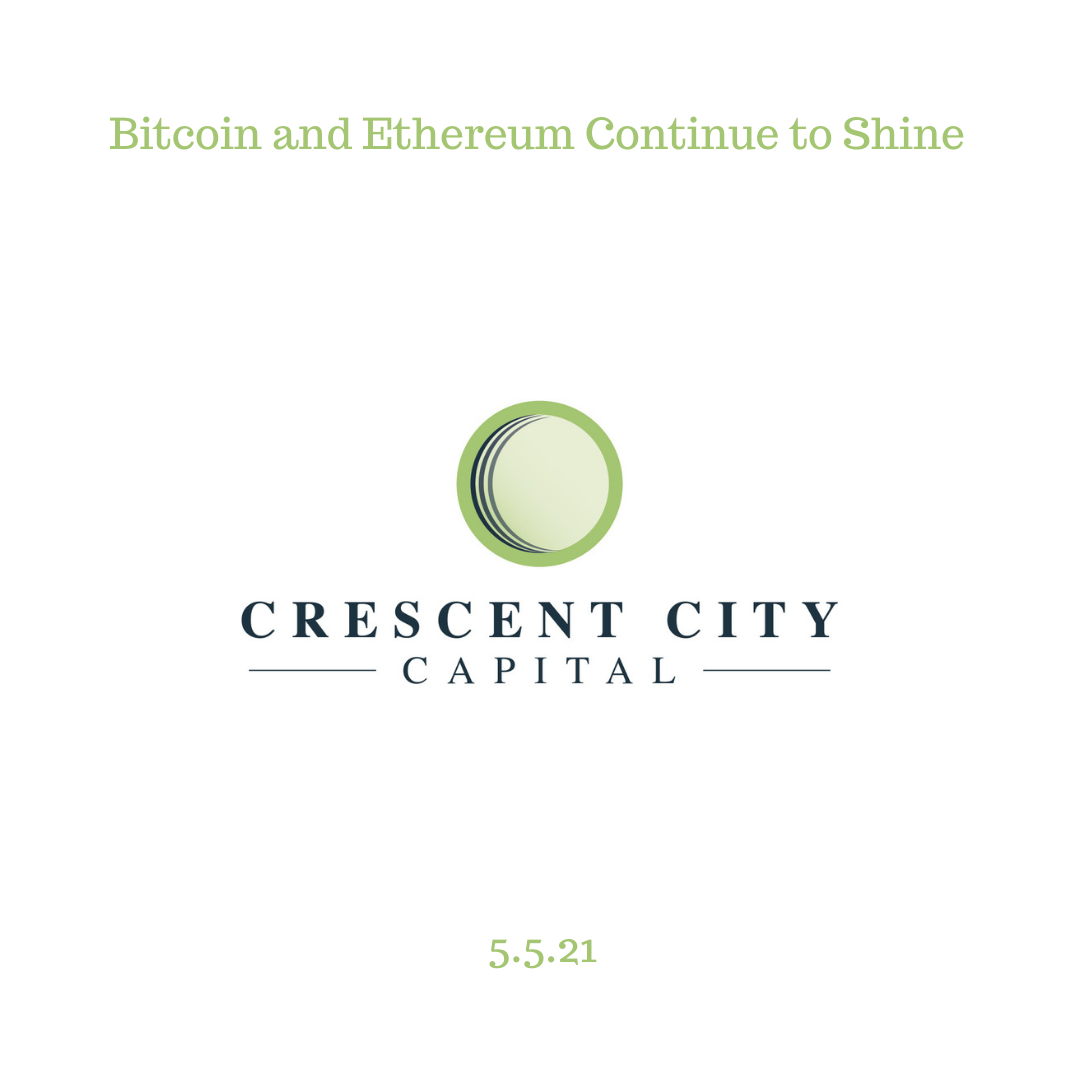 Bitcoin and Ethereum Continue to Shine