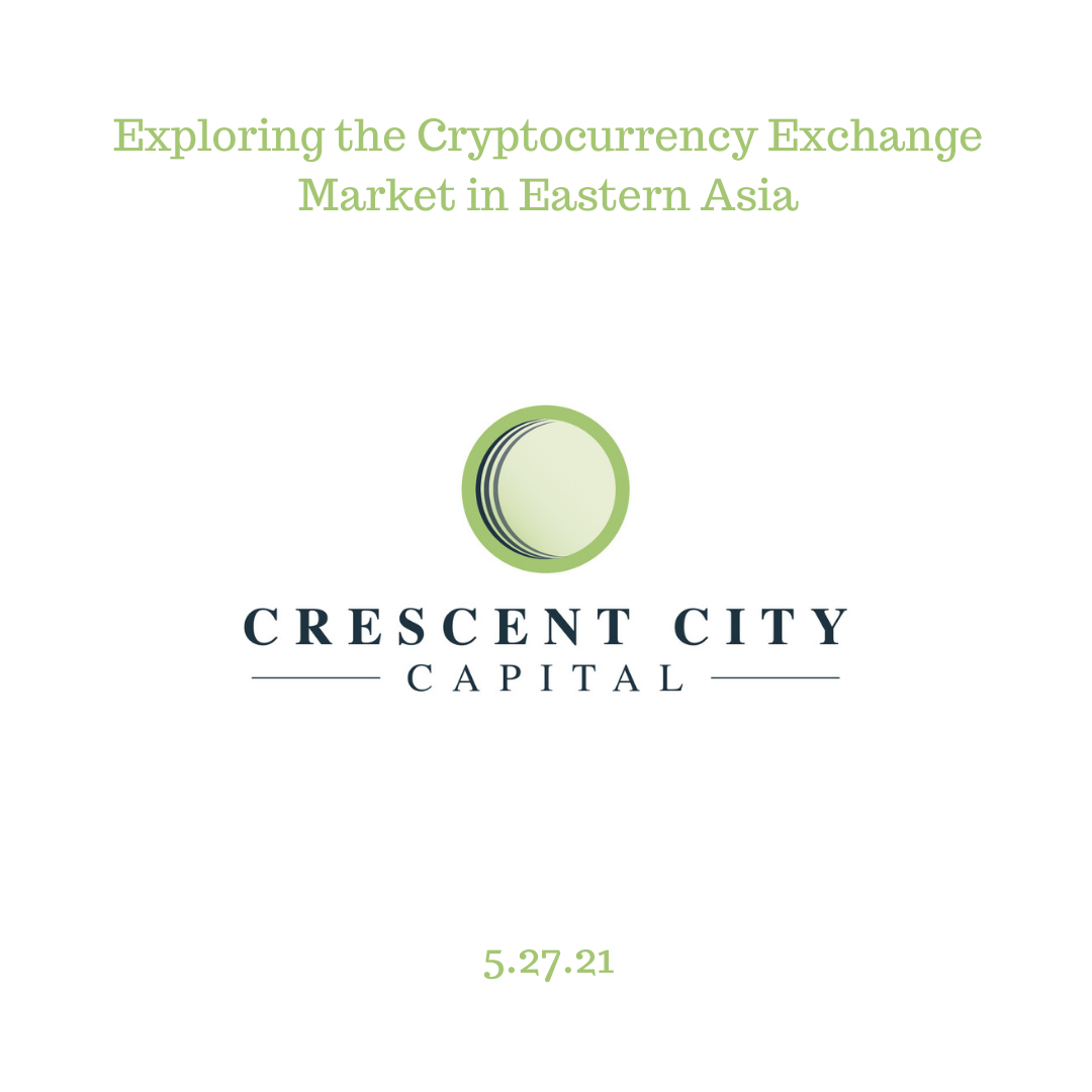 Exploring the Cryptocurrency Exchange Market in Eastern Asia