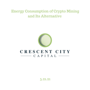 Energy Consumption of Crypto Mining and Its Alternative