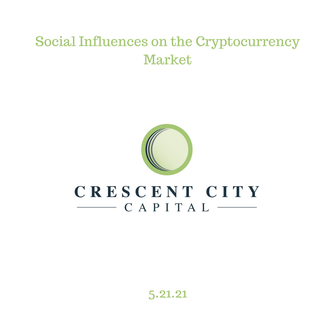 Social Influences on the Cryptocurrency Market