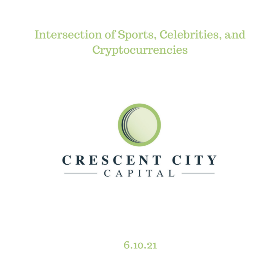 Intersection of Sports, Celebrities, and Cryptocurrencies