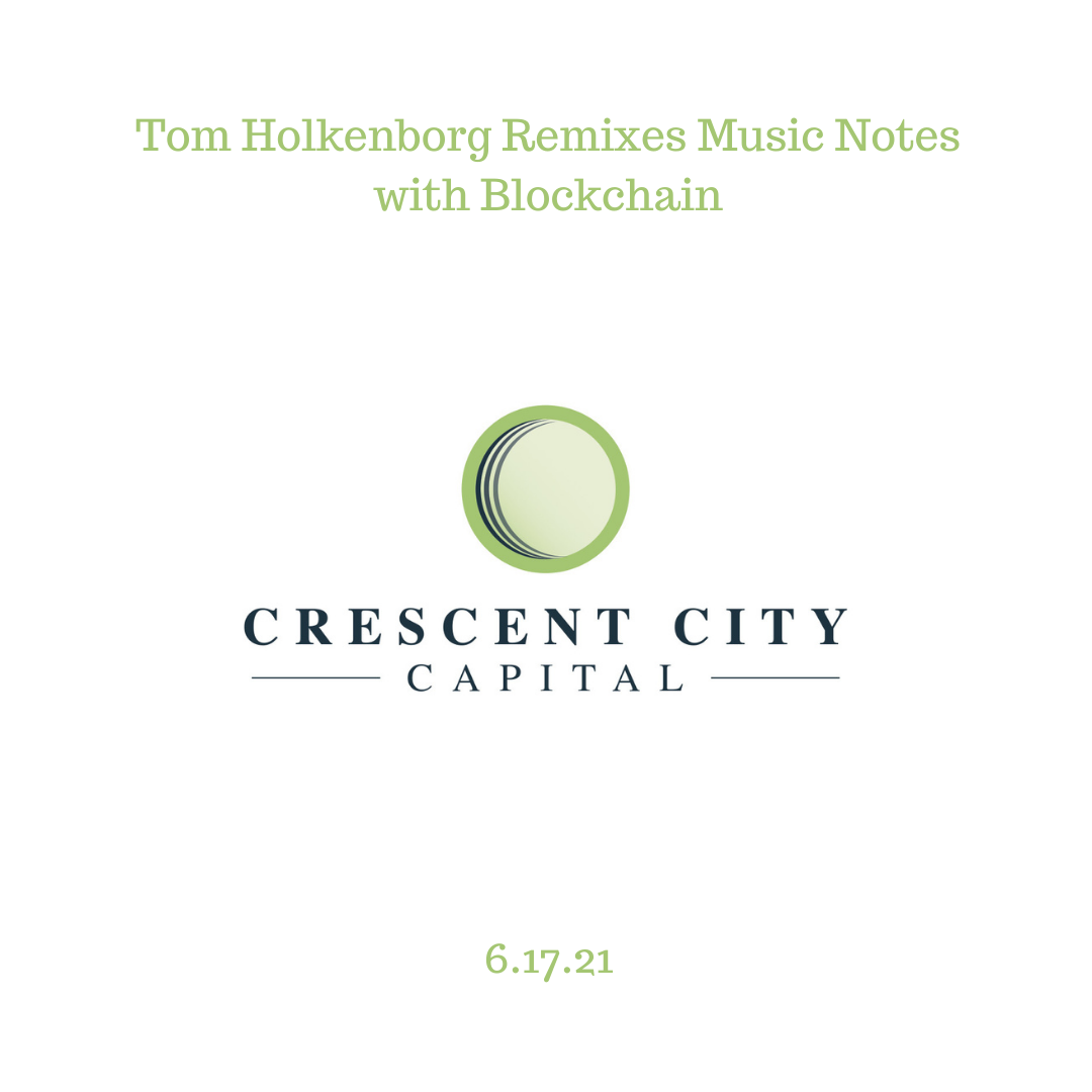 Tom Holkenborg Remixes Music Notes with Blockchain
