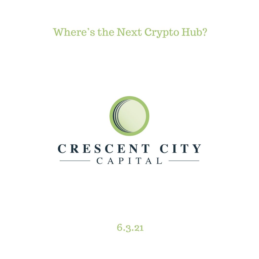 Where's the Next Crypto Hub?