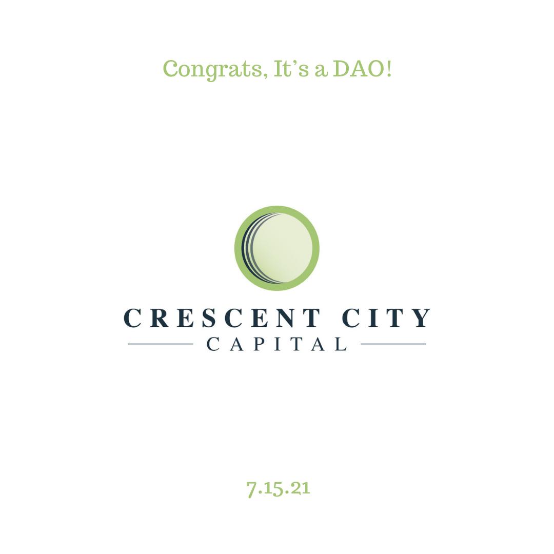 Congrats, It's a DAO!