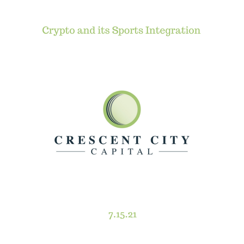 Crypto and its Sports Integration