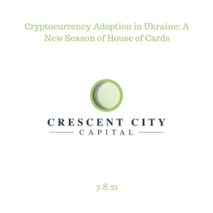 Cryptocurrency Adoption in Ukraine: A New Season of House of Cards