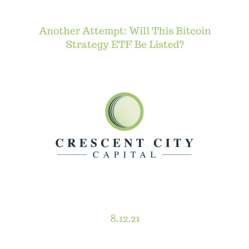 Another Attempt: Will This Bitcoin Strategy ETF Be Listed?