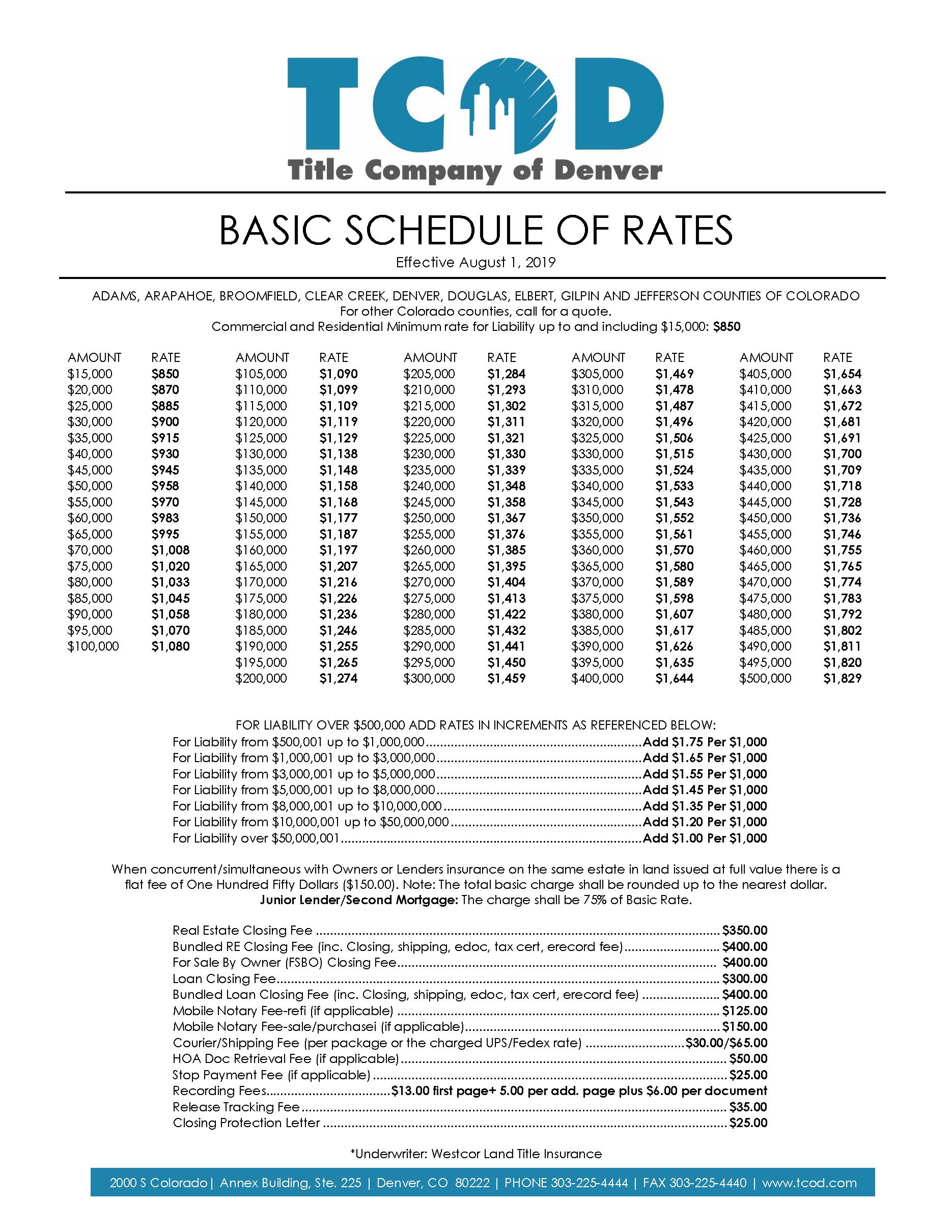 TCOD_BasicRates-06.15.17-closing-fees-2.1.19-closing-protection-08.01.19