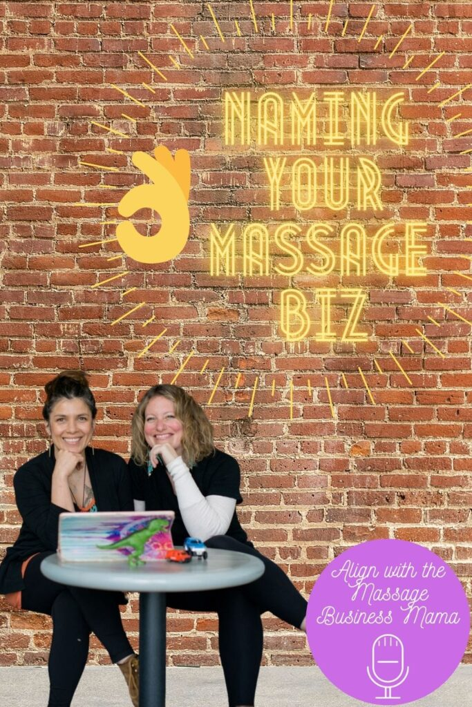 Learn how to name your massage business quickly and effectively.