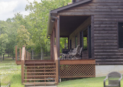 Cabin Rental Porch