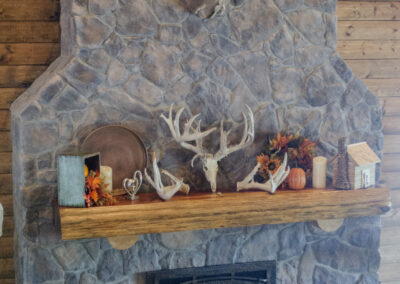 Hunting Lodge Fireplace