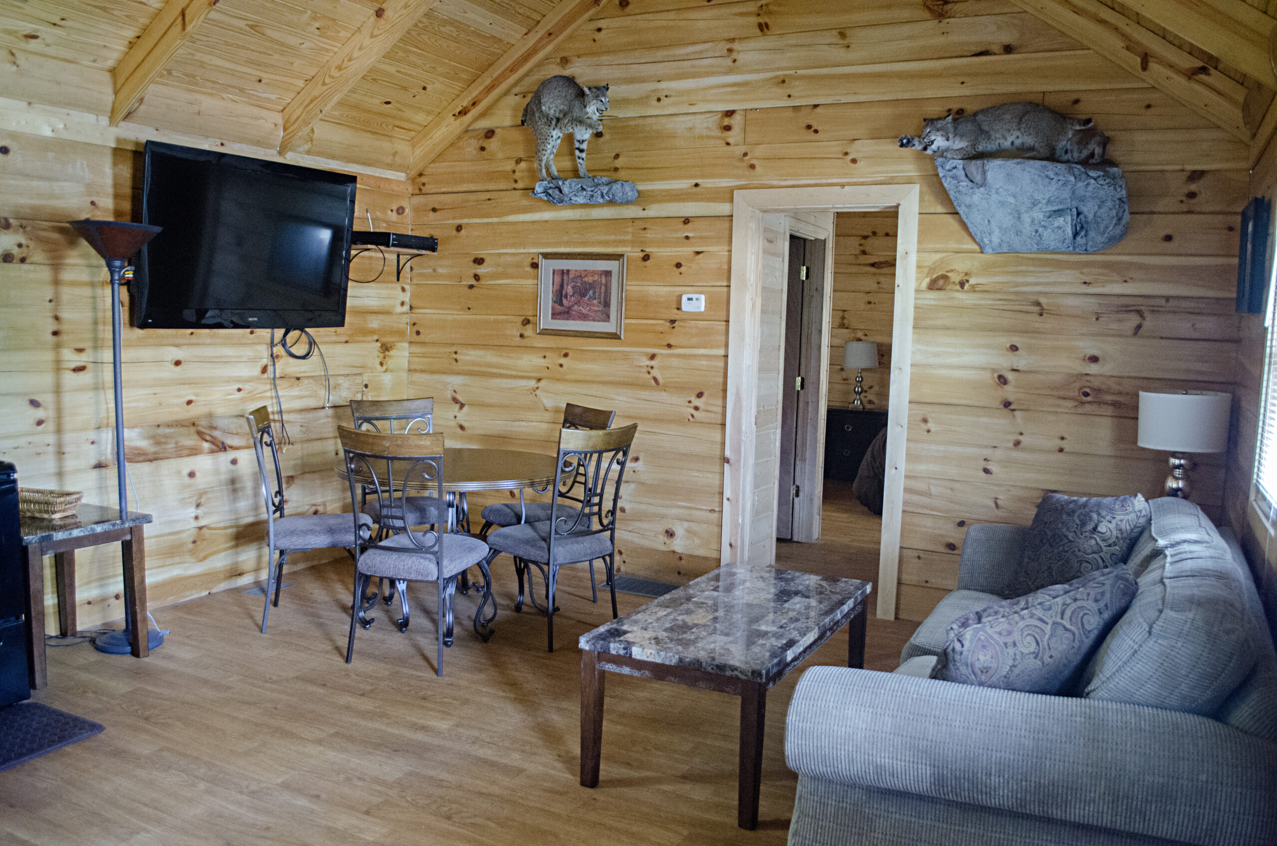 Secondary Hunting Lodge Living Room