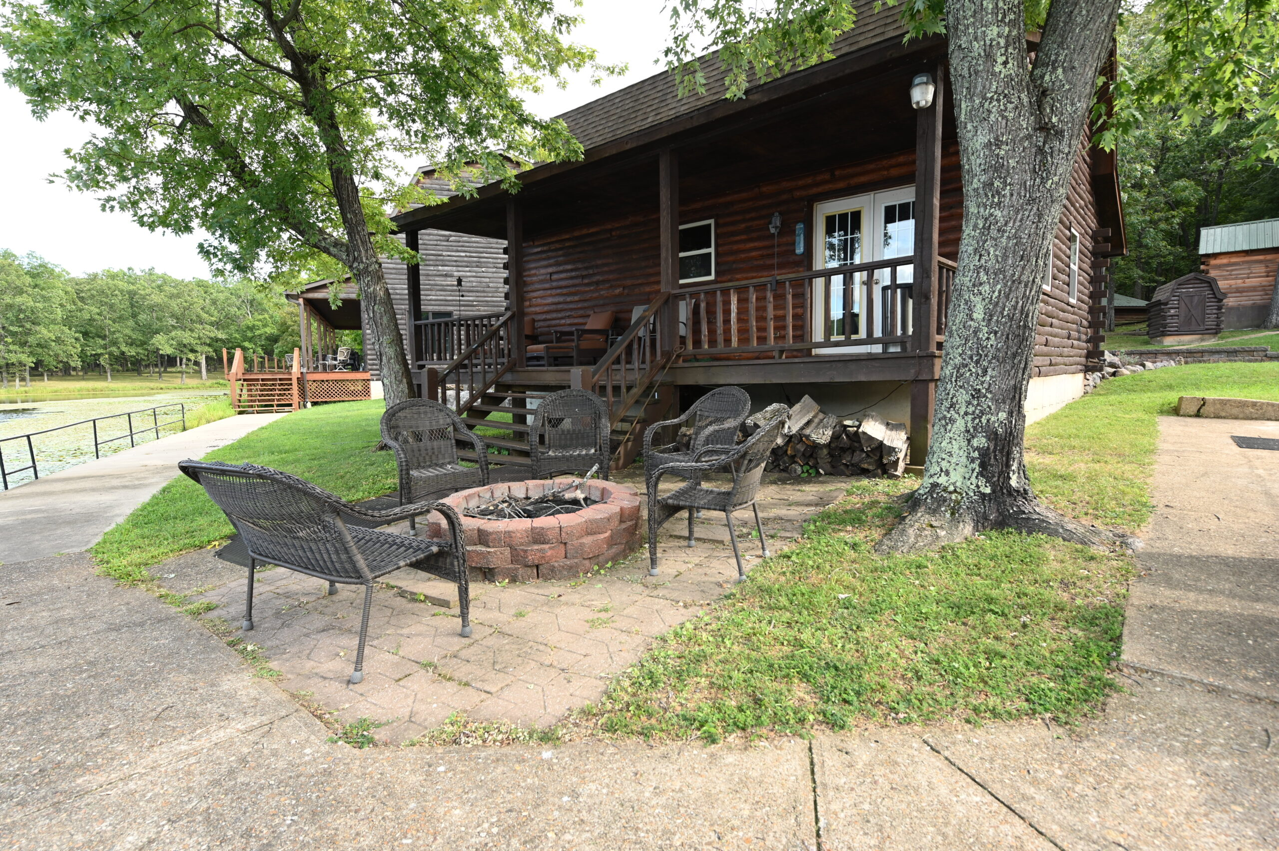 Primary Cabin Rental Fire Pit